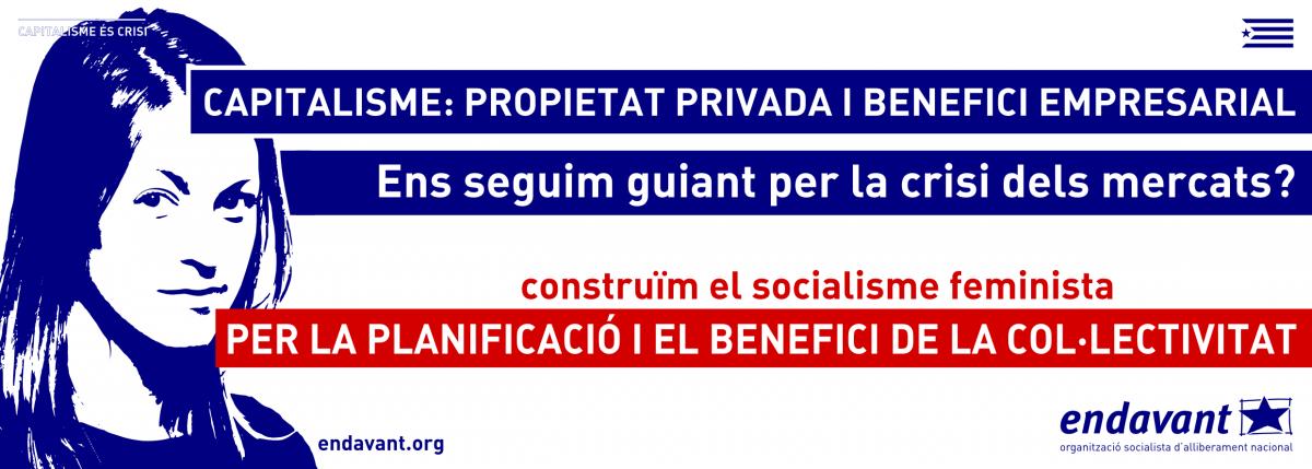 [CARTELLS] Construïm el socialisme feminista als Països Catalans