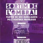 Actes i manifestació a Manresa