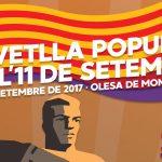 Acte a Olesa de Montserrat