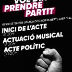 Acte a Sabadell
